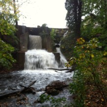 Hurricane Sandy: Waterfall Pictures