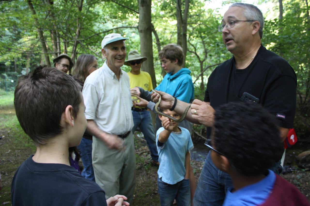 8/9 Herpetology Walk with Kyle Loucks