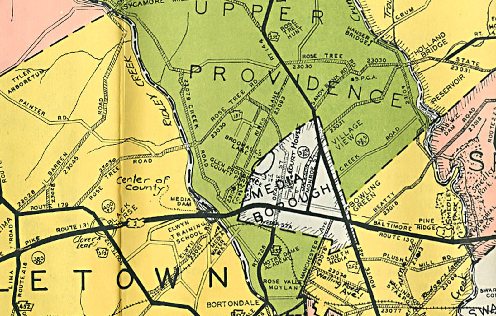 Historical Maps Friends Of Glen Providence Park - Road map of delaware